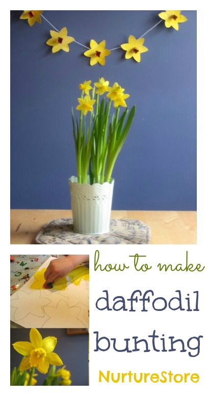 spring craft daffodil craft