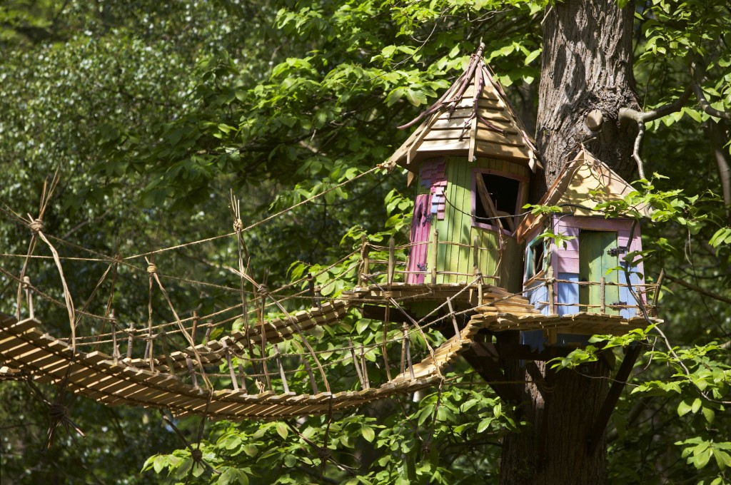 treehouses at BeWILDerwood