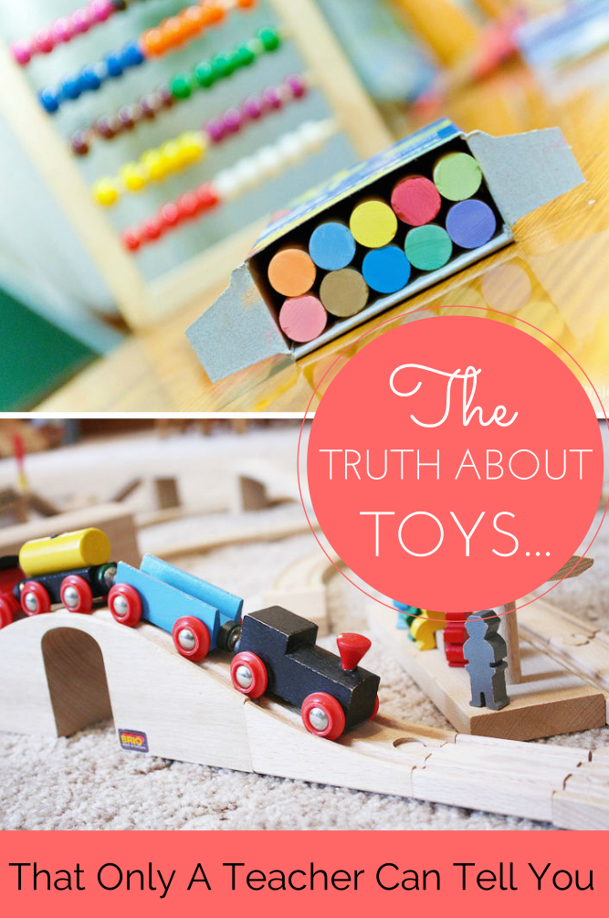 """The truth about toys only a teacher can tell you"" - interesting article all about toys and child development, how to choose the best toys for your child and get the most benefit from them!"