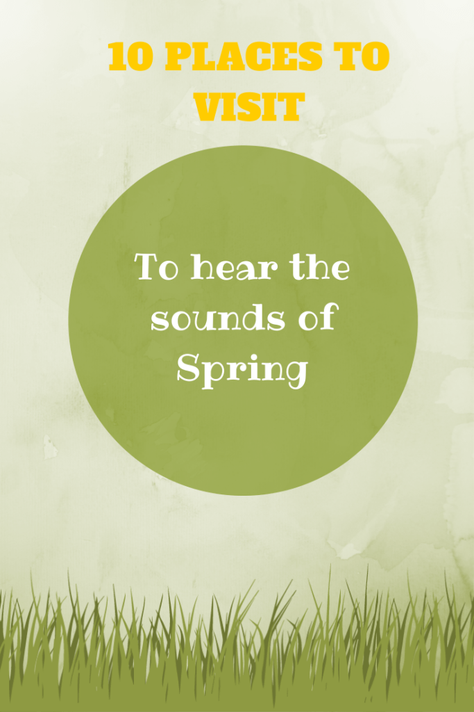 10 PLACES TO VISIT to hear the sounds of Spring - from the National Trust