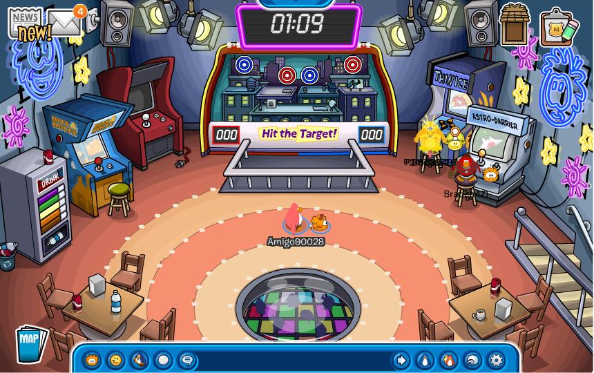 Club penguin games