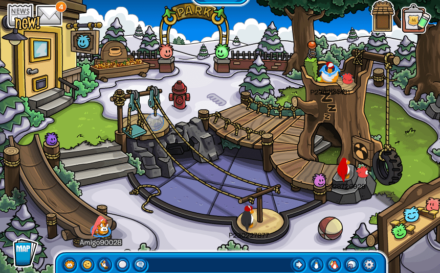 Club penguin puffle party 2014 puffle park