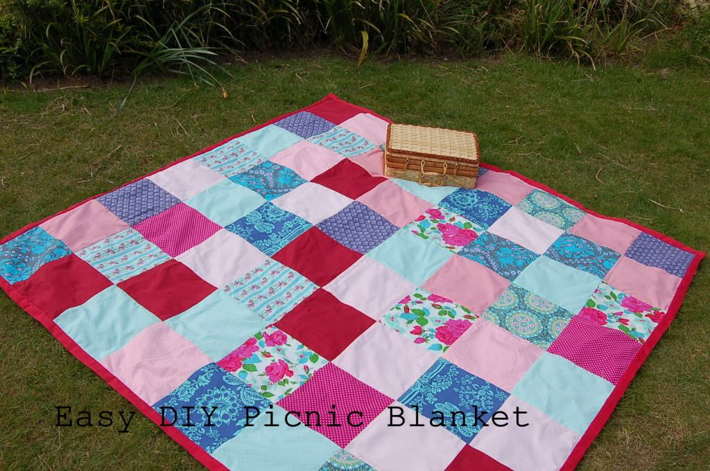 Summer Crafts - How to make a picnic blanket
