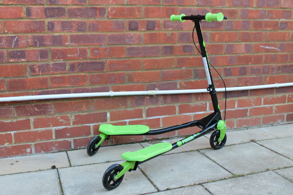 yvolution y fliker kids scooter air series for age 5+