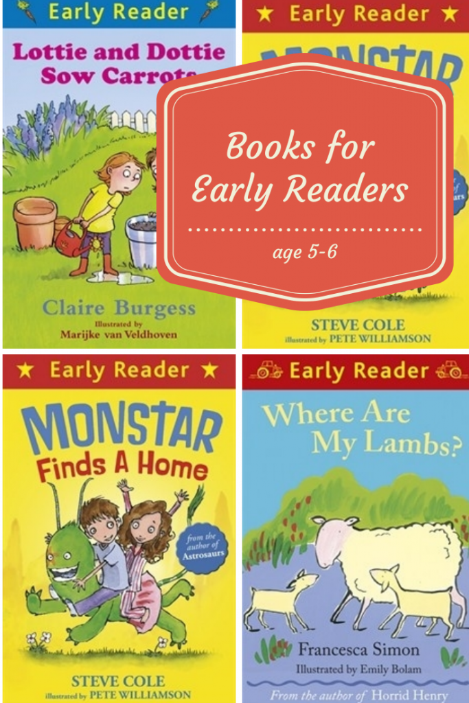 Great books for early readers of 5-6 years old from the Orion Early Reader series