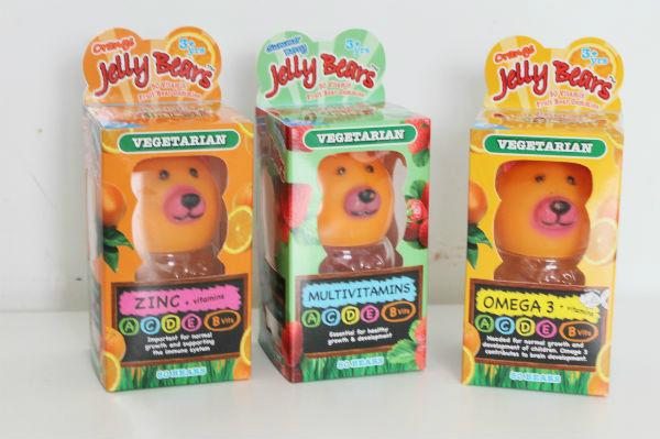 jelly bears vegetarian vitamins