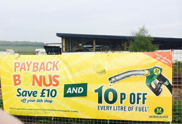10p off every litre of fuel at morrisons