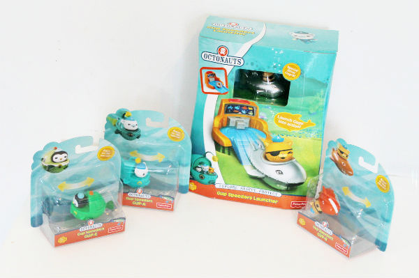 Fisher Price Octonauts Gup Speeders Launcher toys