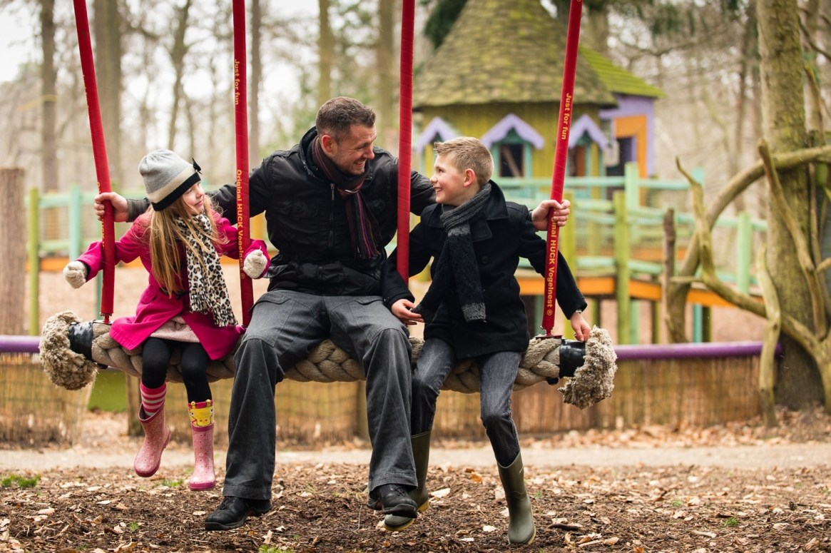 Dads go free on fathers day at BeWILDerwood
