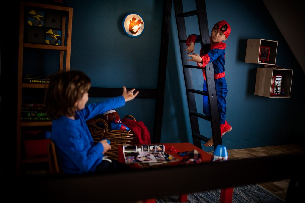 Philips Spiderman lights