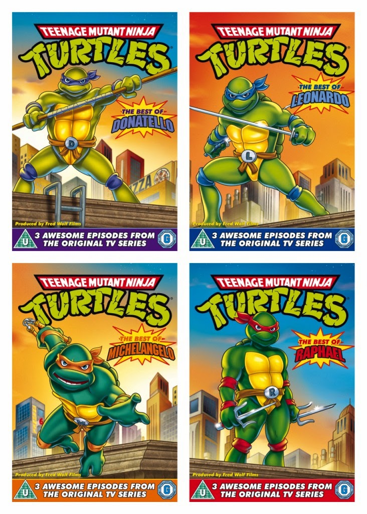 TMNT Original Series DVDs