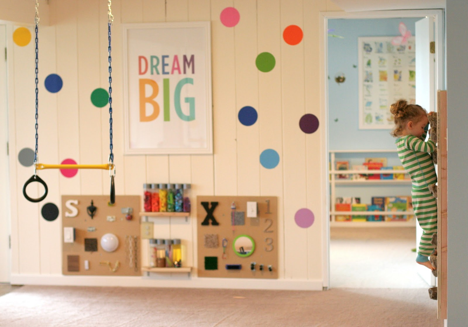 fun at home with kids playroom with