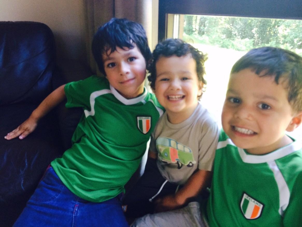 Ireland football tops