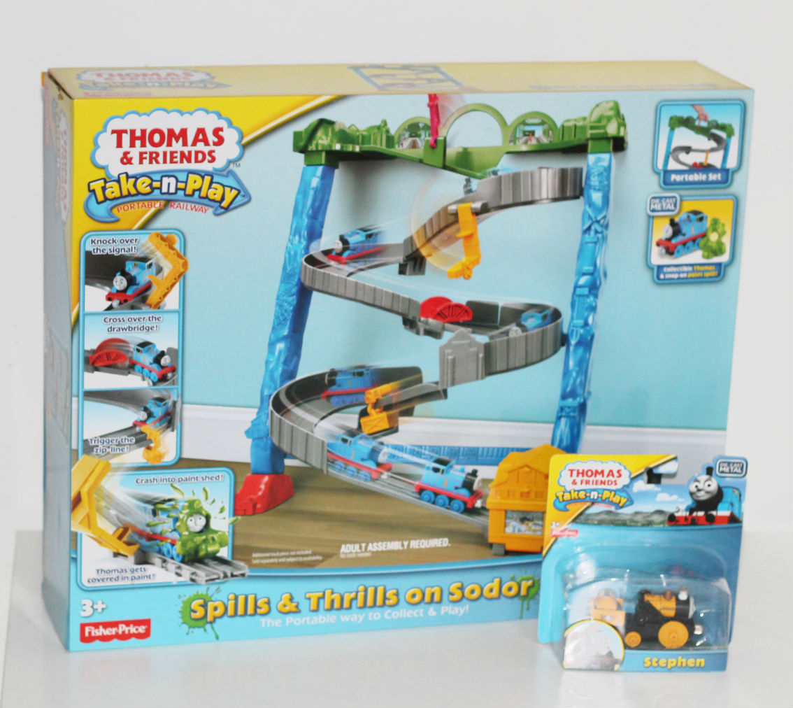thomas take n play spills & thrills on sodor