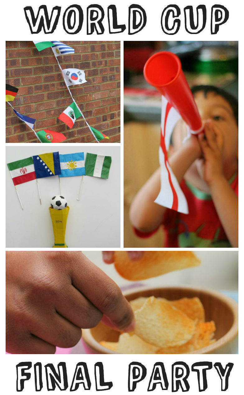 How to hold an amazing world cup final party