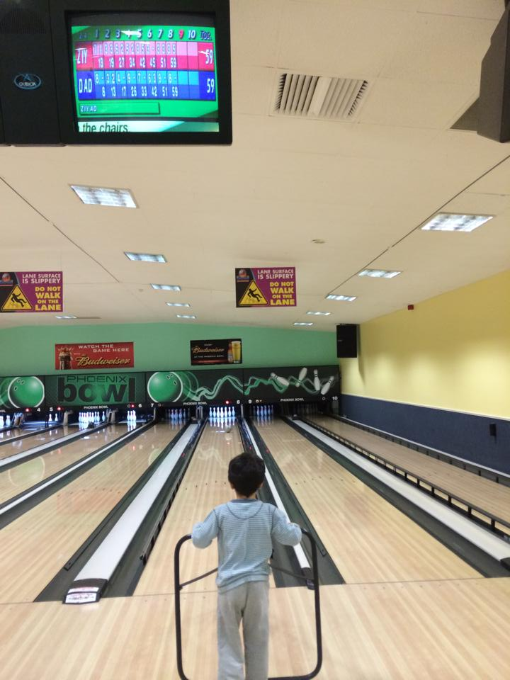 Bowling - fun activity for kids