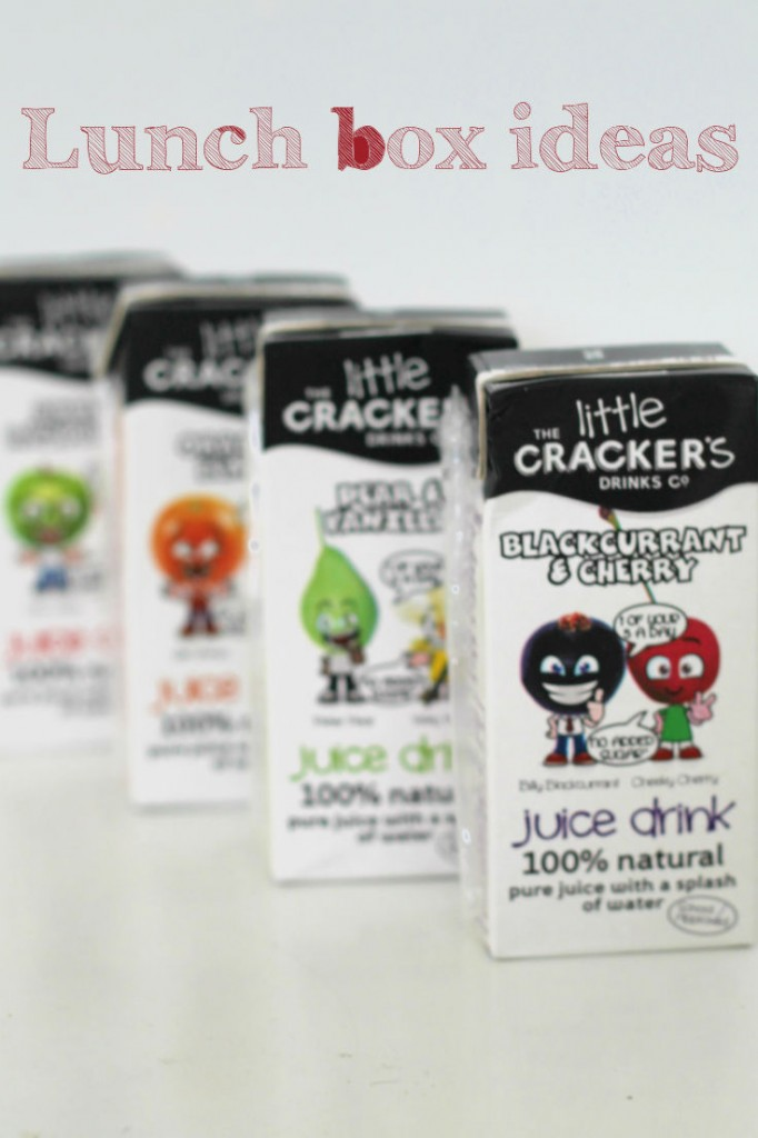Little crackers juice drinks - great for lunch box ideas as a natural drink with more variety in flavours