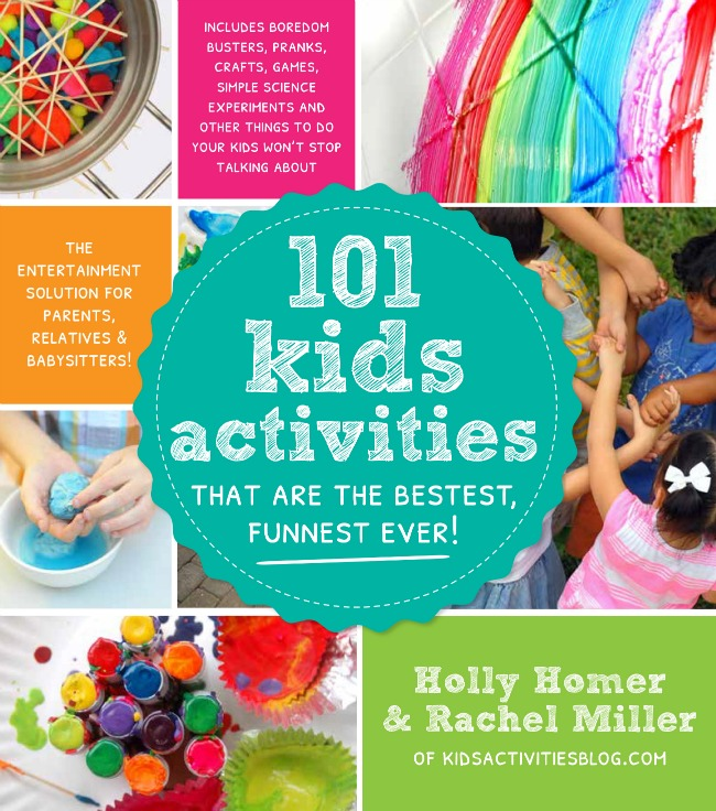 101 kids activities that are the bestest funnest ever book cover