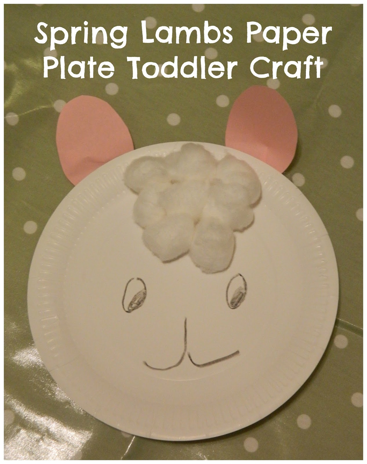 Paper Plate Lambs  sc 1 st  In The Playroom & Paper plate crafts