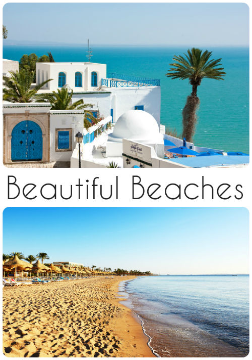 3 of the most beautiful beaches - Love these!