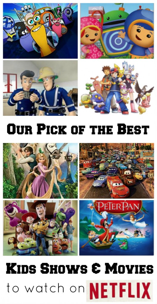 Pick of the best kids movies and shows to watch on Netflix. Click through to the post for all the lists