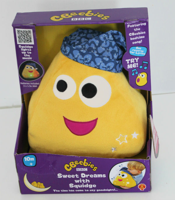 CBeebies Sweet Dreams with Squidge toy in box