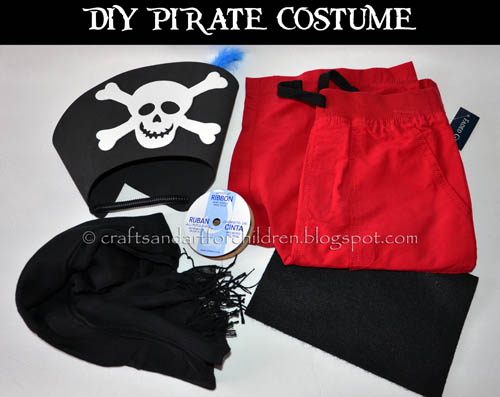 DIY Pirate Costume for Kids