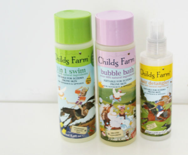 childs farm childrens bath products
