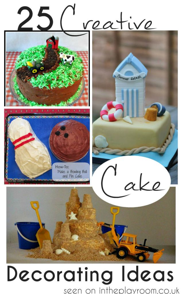 25 creative cakes with fun and unique themes - perfect for birthdays, parties or any occasion!