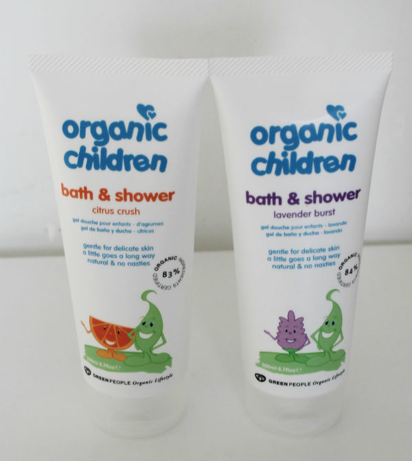 green people organic children's bubble bath