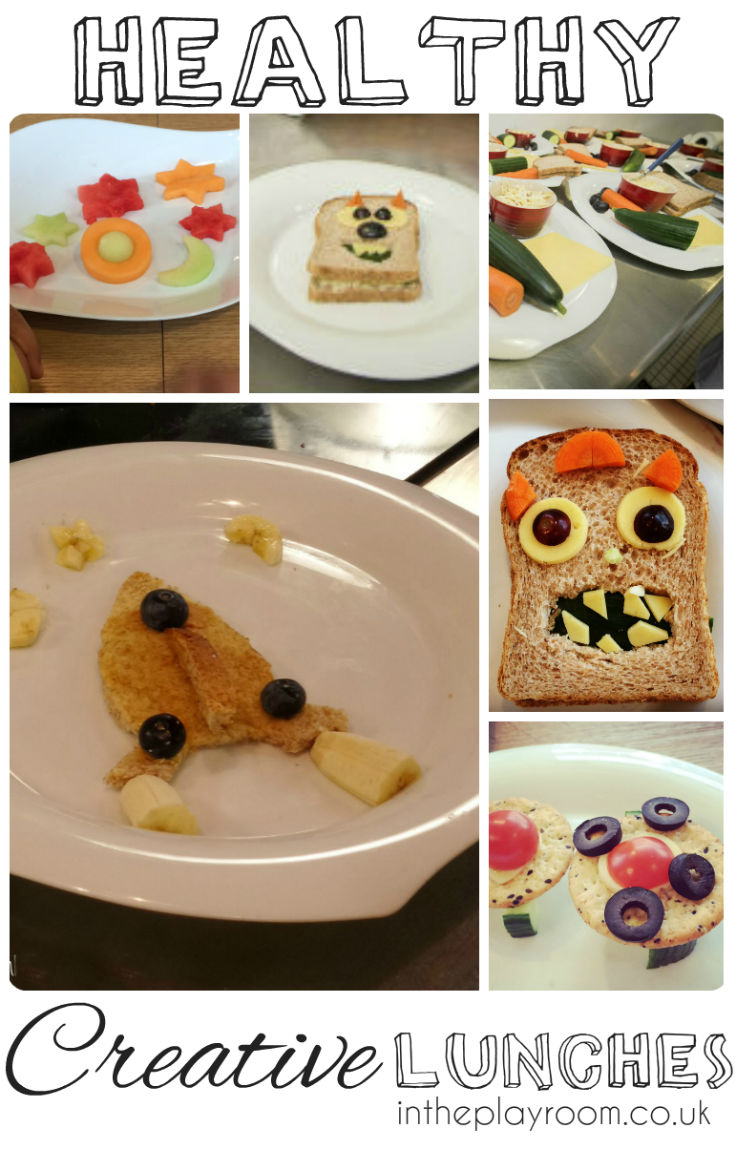 Creative healthy lunches for kids - Lots of great and fun ideas!