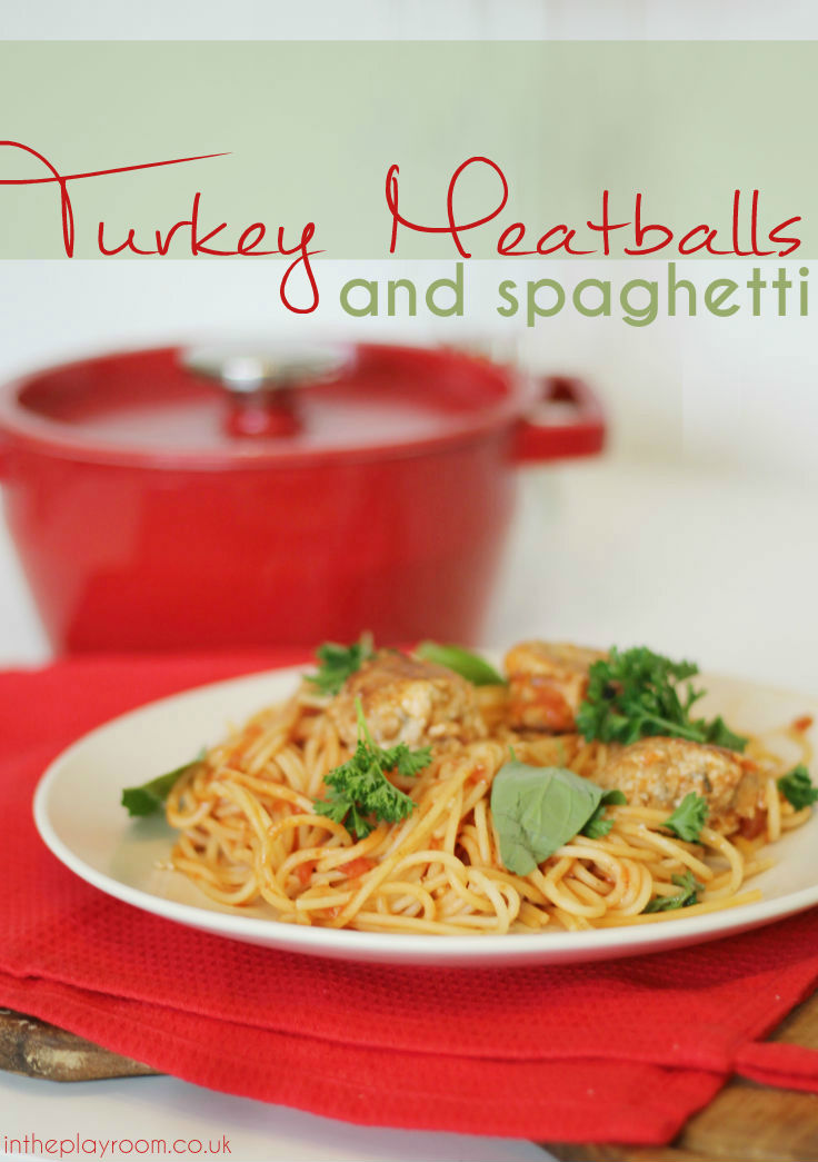 Easy turkey meatballs recipe - also works with chicken