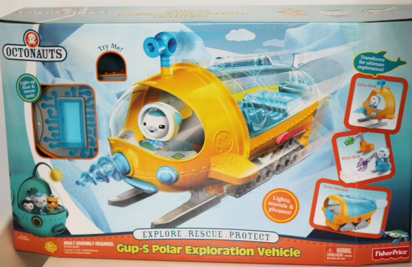 Fisher-Price Octonauts Gup-S playset review