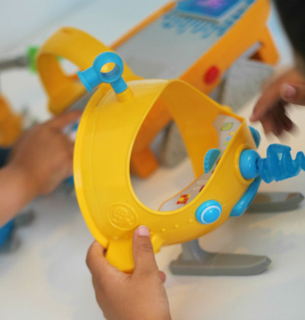 Octonauts Gup-S with detachable Octo-Sled