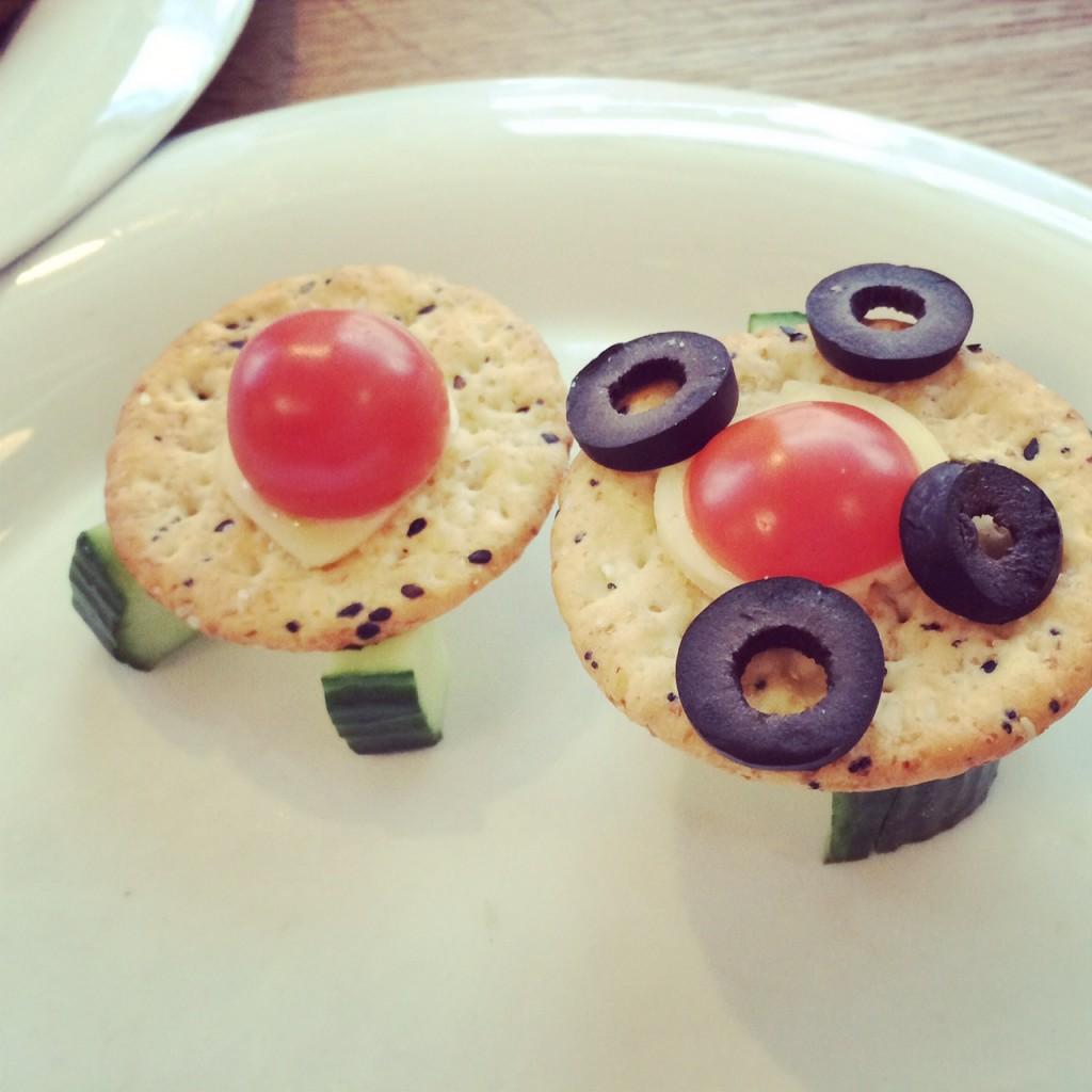 space ship cracker snacks