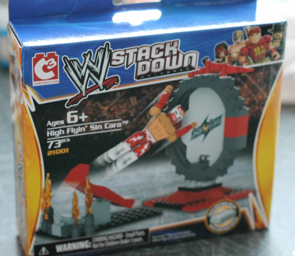 wwe stackdown starter set construction toy compatible with Lego