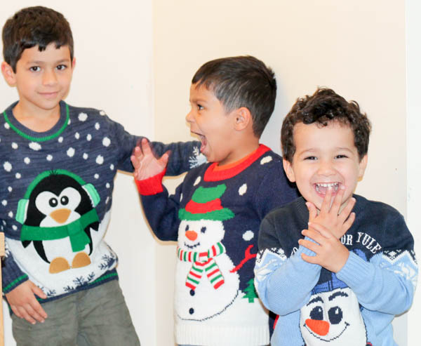 fun christmas jumpers from george at asda