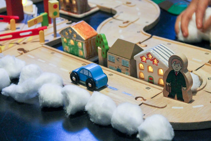 tealight houses winter smallworld