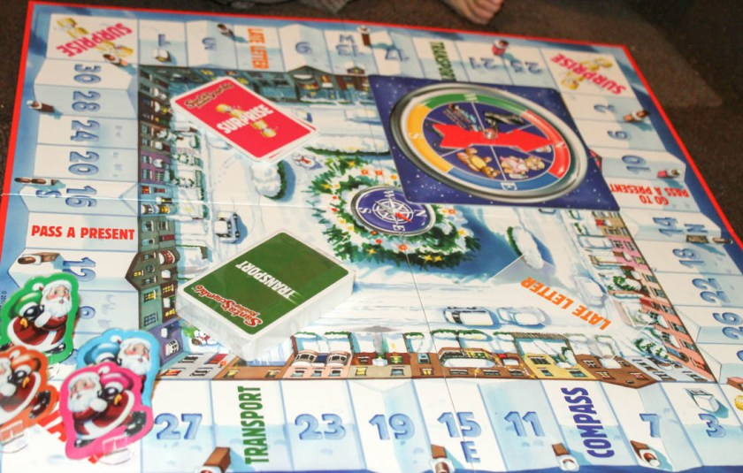 santas rooftop scramble game