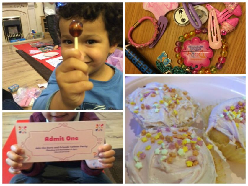 dora and friends twitter party activities