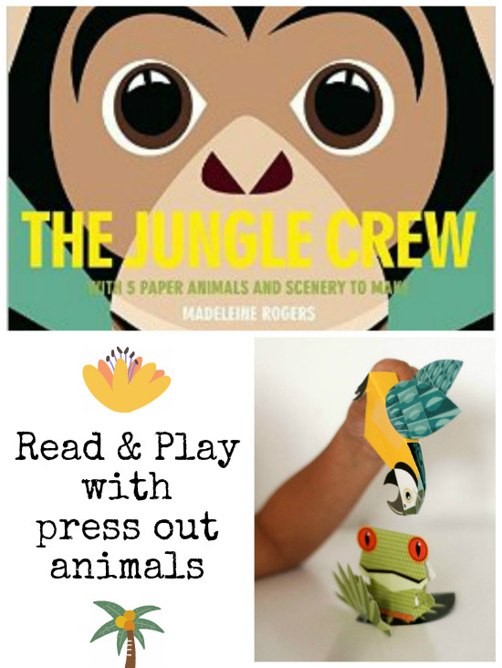 The Jungle Crew book with press out and play animals