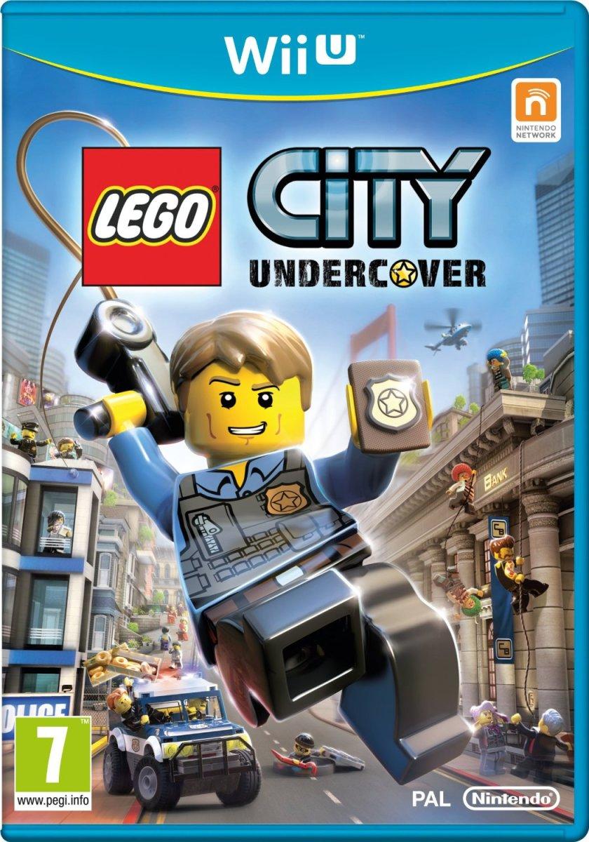 Lego City Undercover on Wii U nintendo game