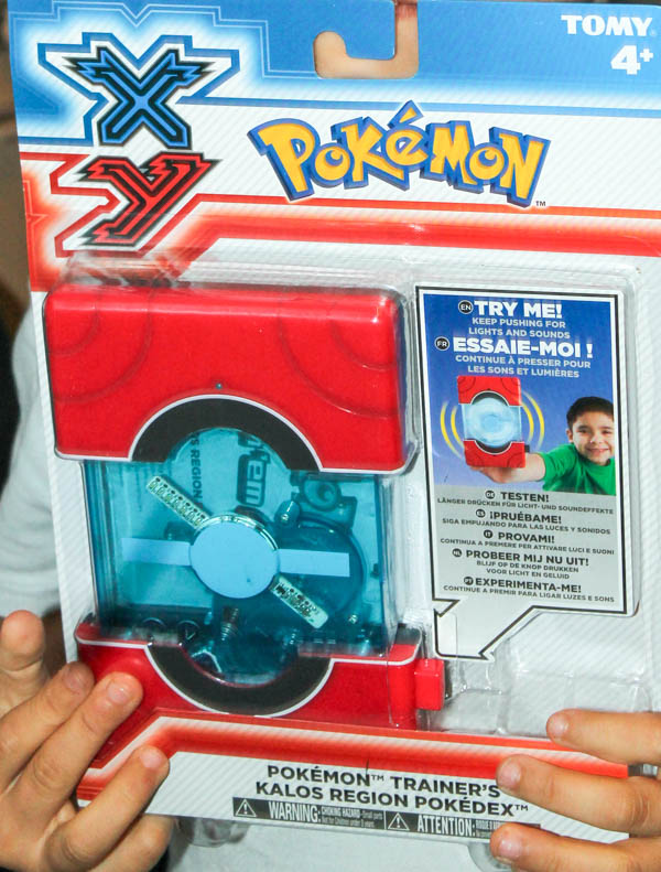 Pokemon Kalos region Pokedex toy from Tomy