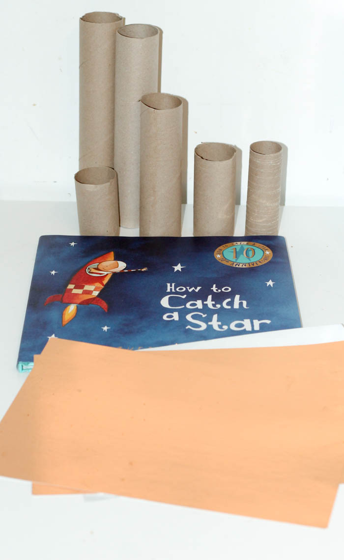 supplies needed for how to catch a star christmas display craft