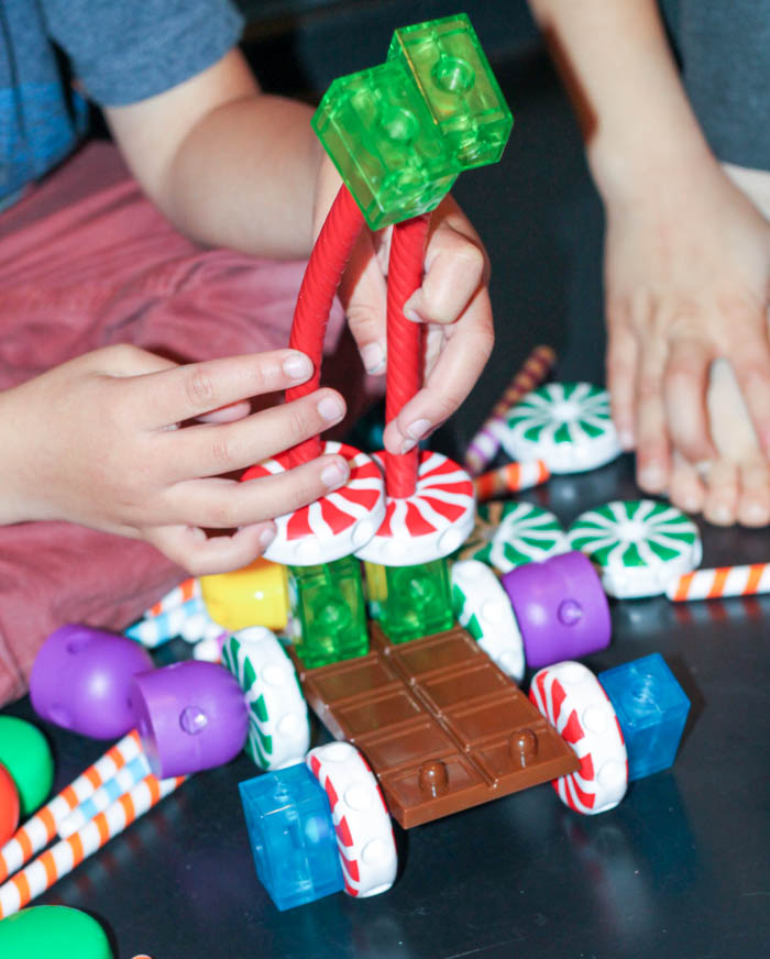 candy construction vehicle