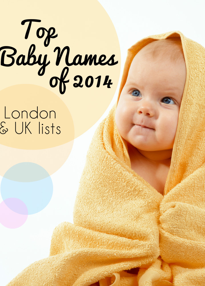 Top baby names 2014 for boys and girls in London and UK