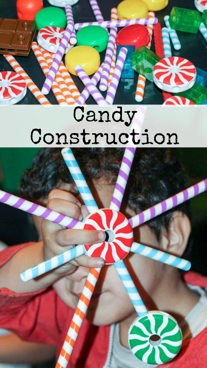 Candy Construction : this is such a fun construction toy!