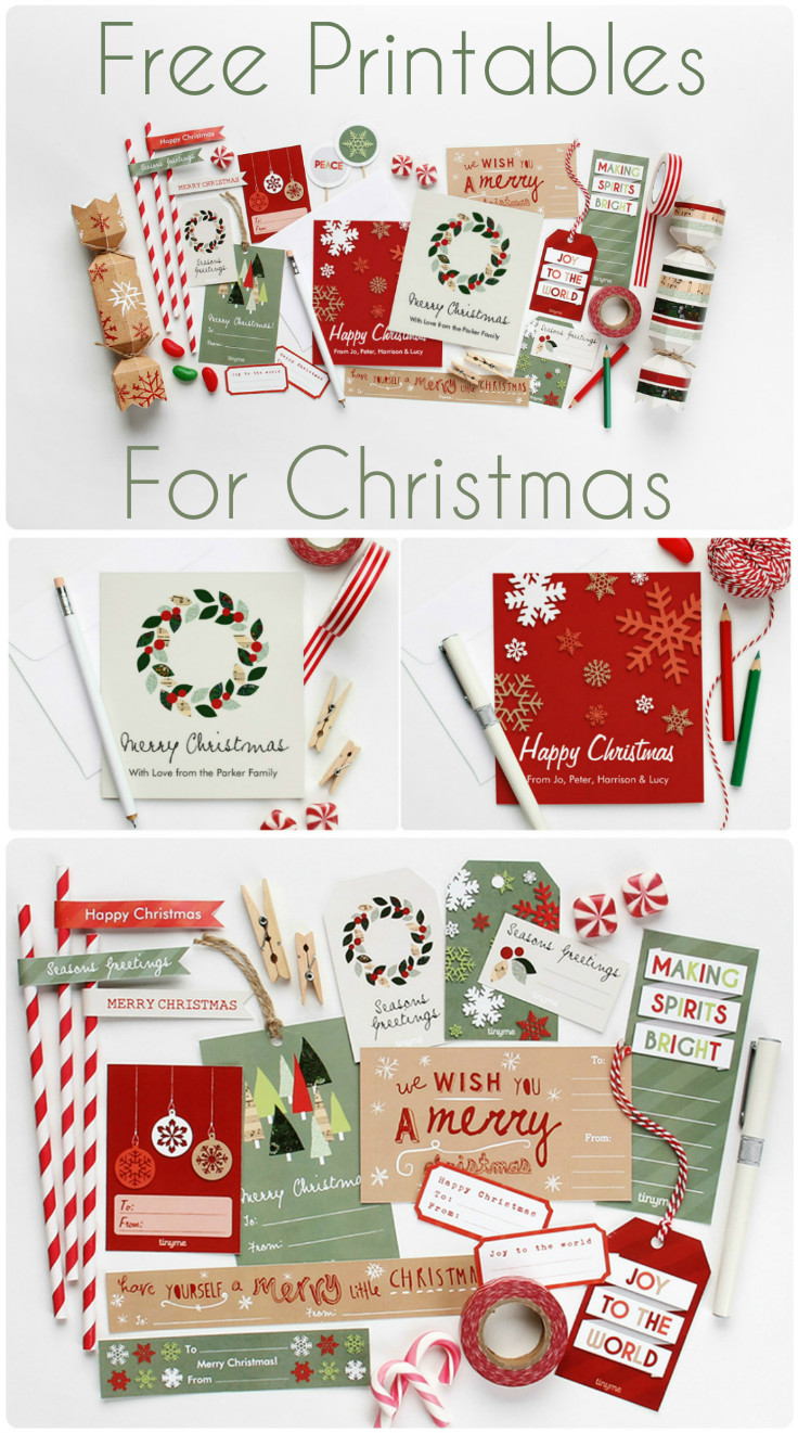 Advent day 14 free christmas printables in the playroom huge set of free christmas printables to make your own gift tags christmas crackers solutioingenieria Gallery