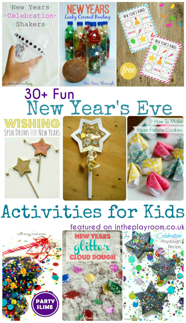 New Years Eve Activities for Kids - In The Playroom