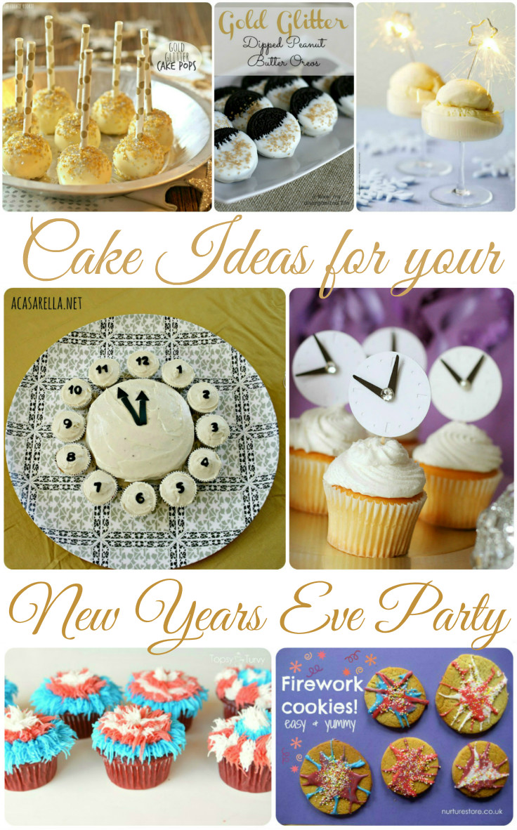 Gorgeous cake ideas for a new years eve party